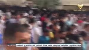 فیلم/ تظاهرات مردم بحرین در حمایت از آیت الله «عیسی قاسم»