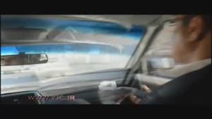 وقتی راننده پیکان وانت مزاحم ماشین آتشنشانی شد