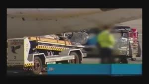 دزدی از چمدانها در فرودگاه!