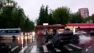 ۷ دقیقه از شدیدترین تصادفات رانندگی