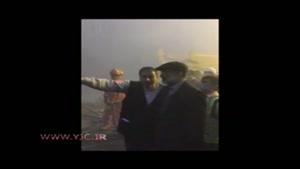 حضور رییس صدا و سیما در محل حادثه پلاسکو