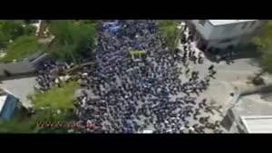 حضور مردم شهرکرد در راهپیمایی روز قدس