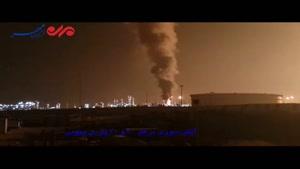 فیلم/ آتشسوزی در پارس جنوبی