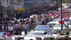 فیلم/ راهپیمایی روز اسیر در فلسطین