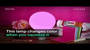 لامپی که مثل آفتابپرست رنگ عوض میکند!