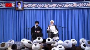 بخش جالبی از سخنرانی حجتالاسلام قرائتی در حضور رهبرانقلاب