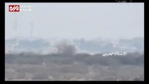انهدام خودروهای زرهی متجاوزان سعودی در جیزان