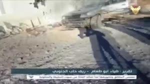 فیلم/ موفقیتهای میدانی ارتش سوریه در شهرک «زیتان»