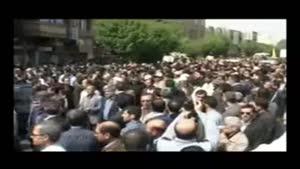 مراسم تشییع پیکر شهید مدافع حرم