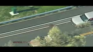 دستگیری رانندهی فراری در تعقیب و گریز طولانی