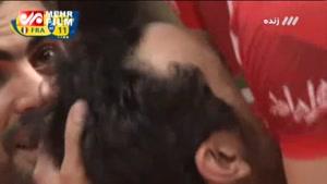 فیلم: برد ایران برابر فرانسه؛جشن خوشحالی بازیکنان