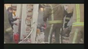 انفجار محل انبار مواد منفجره در تهران