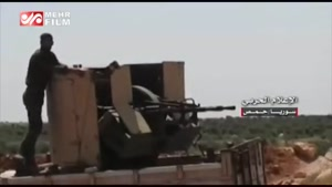 عملیات گسترده ارتش سوریه در حومه شمالی «حماه»