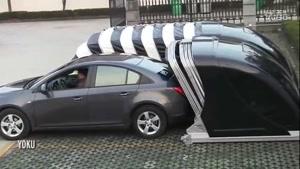 طراحی پارکینگ متحرک خودرو