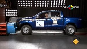 تست تصادف فورد رنجر -Ford Ranger