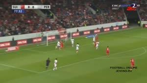 مسابقه فوتبال سوییس ۲ - ۰ پرو