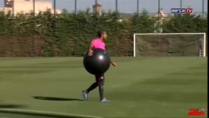 تمرینات ۲۰۱۴ تیم بارسلونا