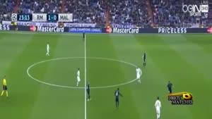 آتش بازی رئال و کریستیانو رونالدو مقابل مالمو