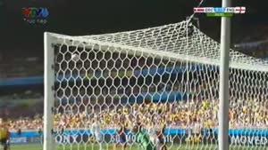 مسابقه فوتبال کاستاریکا ۰ - ۰ انگلیس