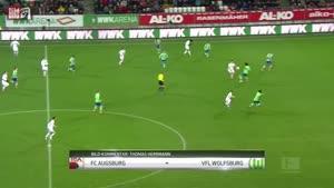 موقعیت های فوتبال آگزبورگ ۰-۰ وولفسبورگ