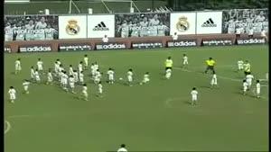 بازی فوتبال رئال مادرید با ۱۰۰ کودک فوتبالیست