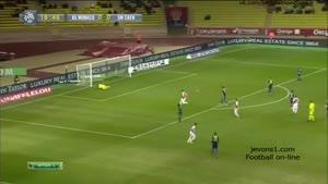 گلهای بازی موناکو ۱-۱ کان