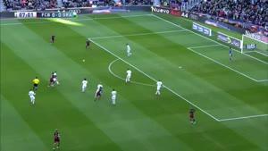 خلاصه بازی گرانادا و بارسلونا
