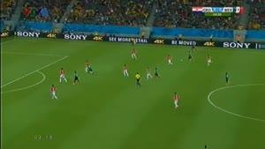 مسابقه فوتبال مکزیک ۳ - ۱ کرواسی