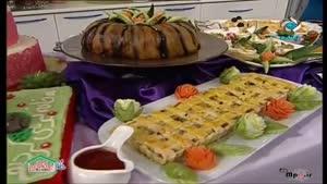 طرز تهیه کاناپ اسفنجی با رویه پنیری