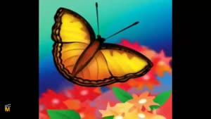 ترانه ی کودکانه ی پروانه