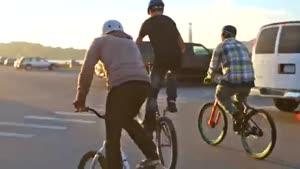 دوچرخه پارکور