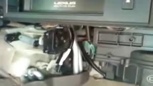 تعمیر سیستم گرمایش لکسوز مدل RX۳۰۰