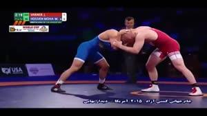 شکست محمدیان مقابل حریف آمریکایی؛ ۹۷ کیلو گرم