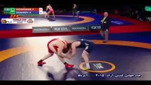 پیروزی هادی مقابل بلاروس؛ ۱۲۵ کیلوگرم