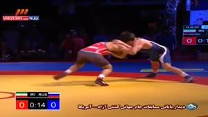 دیدار پایانی جام جهانی کشتی - محمدی