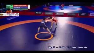 پیروزی محمدی برابر حریف آذربایجان؛ ۶۵ کیلوگرم