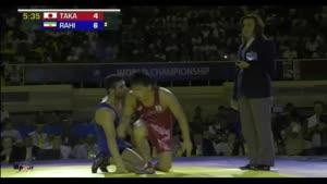 مسابقات کشتی آزاد ایران و ژاپن - حسن رحیمی