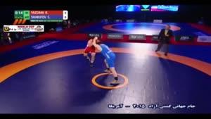 شکست یزدانی برابر حریف آذربایجان؛ ۹۷ کیلوگرم