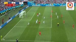 پاس گل دی بروینه از زاویه نگاه خود بازیکن