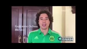 تبریک صعود به جام جهانی از زبان بازیکنان مطرح تیم های حاضر در جام جهانی ۲۰۱۸