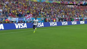 بازی سوئیس و فرانسه در جام جهانی 2014
