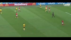 ادن هازاد در بازی مقابل انگلیس در رده بندی