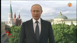 خوش آمدگویی پوتین به فوتبال دوستان