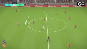 شبیه سازی بازی ایران اسپانیا در جام جهانی ۲۰۱۸
