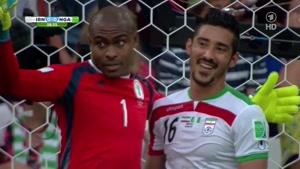 لحظات تلخ و شیرین بازی ایران و  نیجریه در جام جهانی ۲۰۱۴
