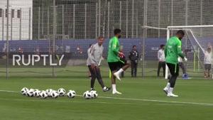 تمرینات تیم ملی عربستان در روسیه