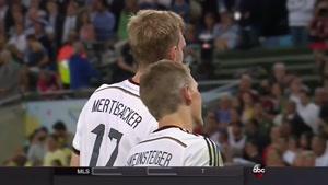 جشن قهرمانی آلمان در جام جهانی ۲۰۱۴ برزیل