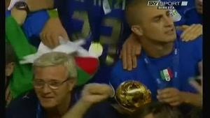جشن قهرمانی ایتالیا برنده جام جهانی ۲۰۰۶ آلمان