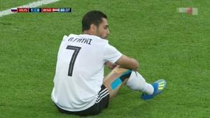 گل اول روسیه به مصر گل به خودی مدافع