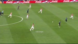 پل پوگبا در بازی فینال جام جهانی 2018